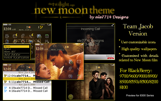 New Moon Theme - Team Jacob by ale7714