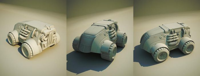 car for game by Aci-RoY