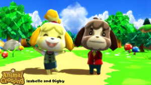 (MMD Model) Isabelle and Digby Download by SAB64