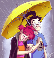 Rainy Valentine's Day by Spectra22