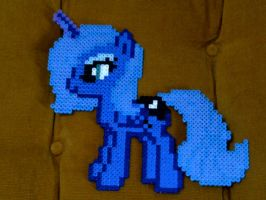 Princess Luna bead sprite by LingeringSentiments