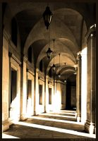 Arches and Rays by nofrojeff2000