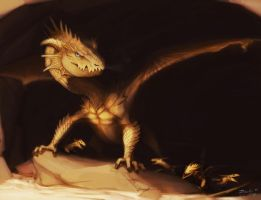 Dragon Hatchlings by Black-Wing24