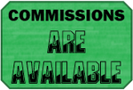 Available Commissions Badge by LevelInfinitum
