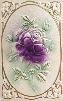 Purple Twilight Rose by Yesterdays-Paper
