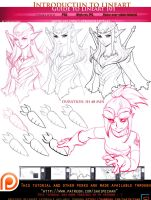 introduction to Lineart 101.voice over .promo by sakimichan