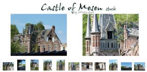 Castle of Mesen stock by xNatje-stock