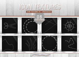 Icon Textures 01 - Speechless by nk-ash