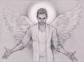 Tom as Angel by DafnaWinchester