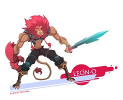 Old man Lion-O by GS-Dracko
