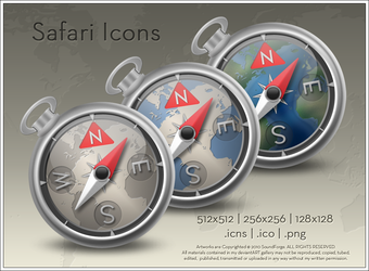 Safari Icons by SoundForge