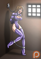 Imprisoned OC (Patreon Reward) by Re-Maker