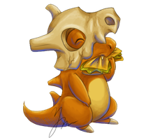 Cubone's breakfast