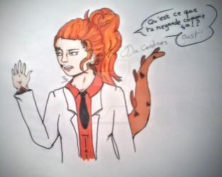 SCP french branch , Dr.Cendres by me CM by CreepyMakara