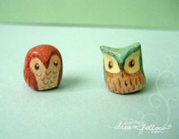 Owlets by merwing