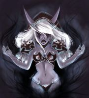 Sylvanas Windrunner by Silveztra
