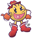 .:Here Comes Pac-Man - Puyo Puyo 20th-styled:. by CaitlinTheStarGirl