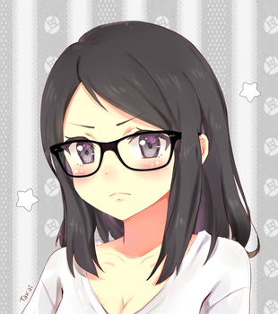 ||+ Glasses + || #CM by hyuugalanna
