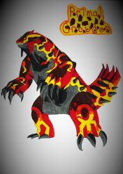 Primal  Groudon by robotman25