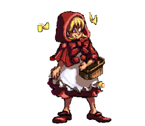 Bulleta (Baby Bonnie Hood) Sprite by Nighteba
