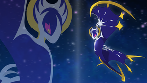 yet another lunala wallpaper by Elsdrake