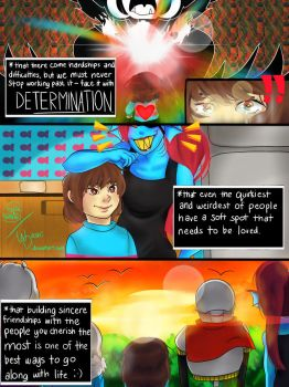 Undertale: Lessons Learned by washidashi