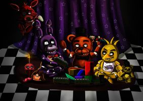 Five nights at freddy's by ErgoAsch