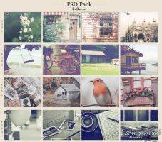 PSD Pack - 4 Effects (FREE) by friabrisa