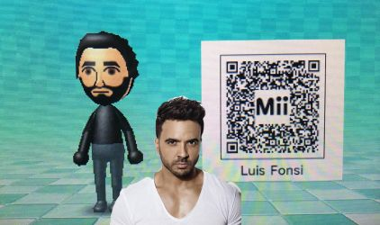 My own made Luis Fonsi Mii (QR CODE INCLUDED) by Ryan29o4
