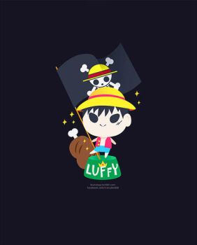 Luffy by LoveSoup