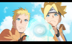 Naruto and Boruto Rasengan Boruto the movie by Sarah927Artworks