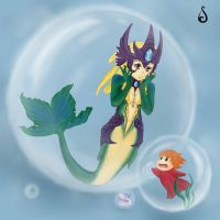 Nami - Bubble of Surprises by Silver--Ame