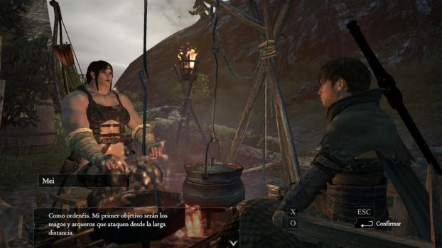Mei in Dragons Dogma by GRYPHON-POWERFULL