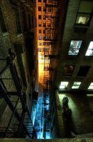 Alley by 5isalive