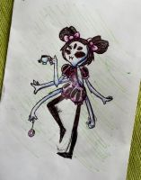 muffet sketch by ColoredSketches