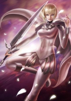 Clare from Claymore by NinjArt1st