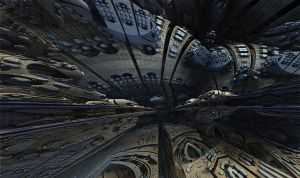 Amazing Box Race 08 - Mandelbulb 3D fractal by schizo604