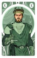 Game of Thrones' cards | King Renly Baratheon by SimonaBonafiniDA