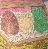 Game Of Thrones Coloring Book Dragon Eggs By Rickgrimes923