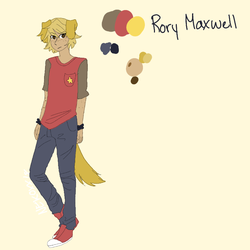 Rory Reference Sheet by NeonCandyLights