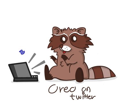 Oreo the Raccoon by Littlenorwegians