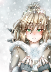Nipria and Snowflakes by TonkiPappero
