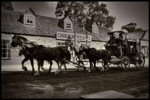 Going Past The Charlie Napier Hotel by djzontheball