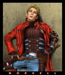 Vash in Color by DaleNorvell