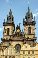 Church of Our Lady before Tyn by blackasmodeus