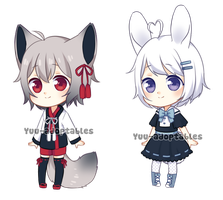 OPEN Adopts #21 SET PRICE by Yuu-adoptables