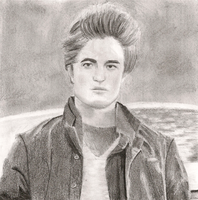 Edward Cullen Drawing by Goldencloud