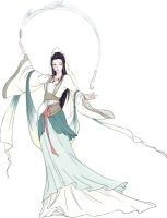 Guanyin Colored by Po-Yu