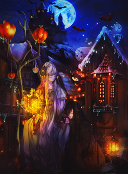 MIDNIGHT [halloween] [2-10-2017] by Pia-Hime