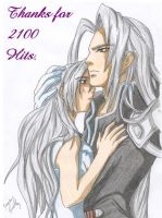 Thanks for 2100 Hits by Seto01